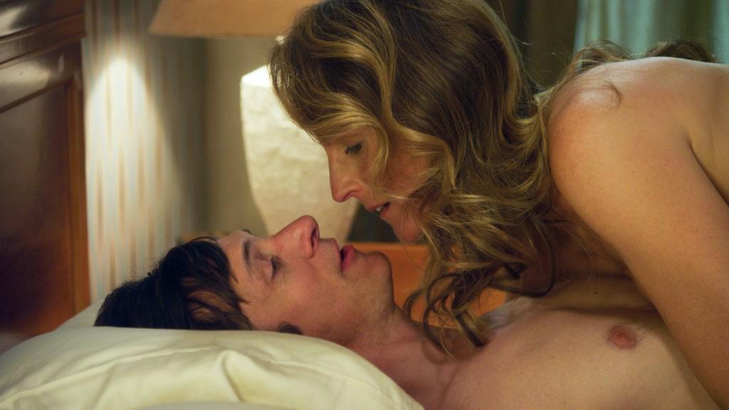 Uomo e donna a letto