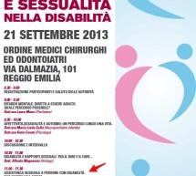 Convegno di Reggio Emilia il 21 Settembre 2013