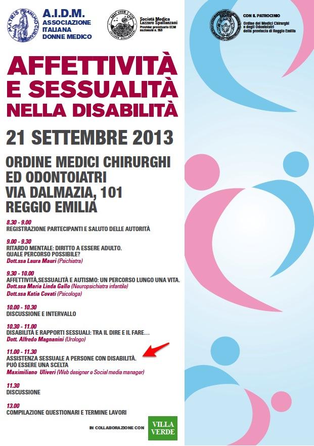 Locandina Reggio Emilia